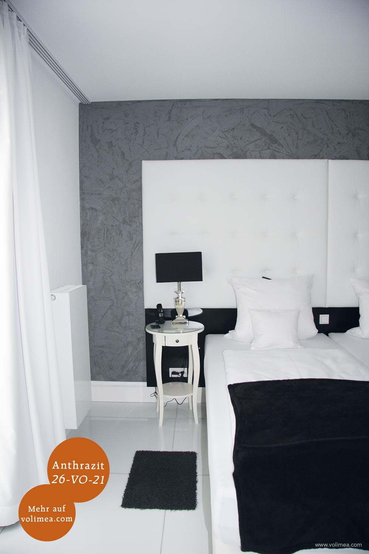 Mikrozement fugenlose Volimea Wandbeschichtung in einem Hotel - Edelweiss 26-VO-21
